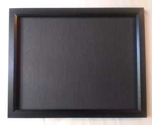 "Poker Chip Display Frame Fits our 11x14"" chip insert FRAME ONLY Simple black frame for artwork Photo frame"