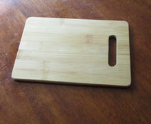 Load image into Gallery viewer, Custom Bamboo Cutting Board Engraved 6X9 mini bamboo cutting board Cheese board Moira Rose Schitt's Creek