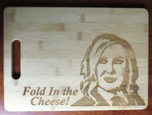 Load image into Gallery viewer, Custom Bamboo Cutting Boards Small Moira Rose David Rose Schitt's Creek Walter White Breaking Bad Let's Cook