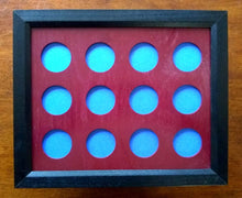 Load image into Gallery viewer, Custom Poker Chip Frame Fits 8x10 inserts Simple Black frame for chip insert Frame only