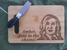 Load image into Gallery viewer, Custom Bamboo Cutting Board Engraved 6X9 PERSONALIZED bamboo cutting board Your name engraved Cheese board Choose Moira Rose Schitt's Creek
