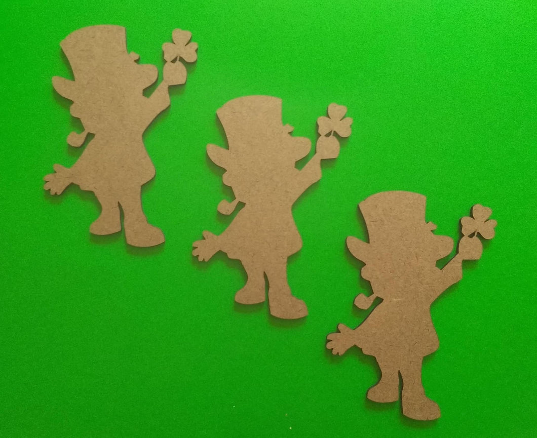 Leprechaun shapes craft supplies Laser-cut 5