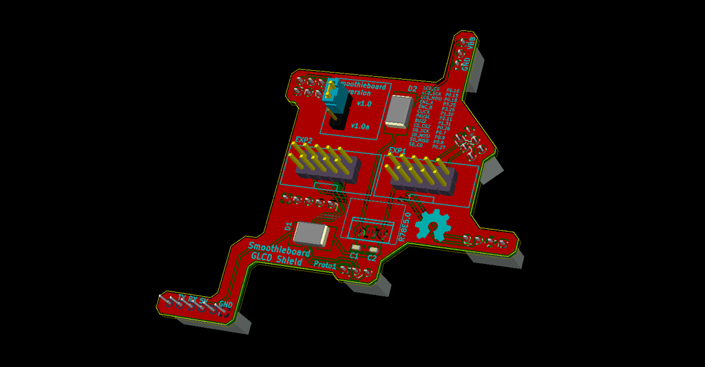 Smoothieboard GLCD Shield