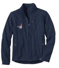 Load image into Gallery viewer, Princeton Airport Men's Sweater Fleece Full-Zip Jacket