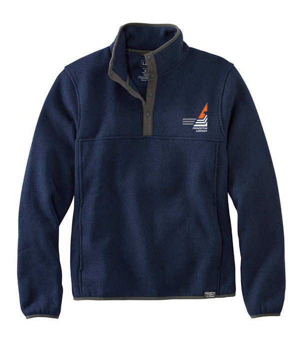 Princeton Airport Men's Sweater Fleece Pullover