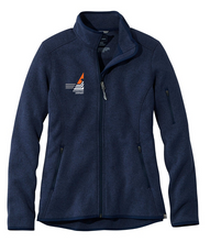 Load image into Gallery viewer, Princeton Airport Women's Sweater Fleece Full-Zip Jacket