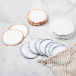 The Beauty Box | Reusable Makeup Pads Set