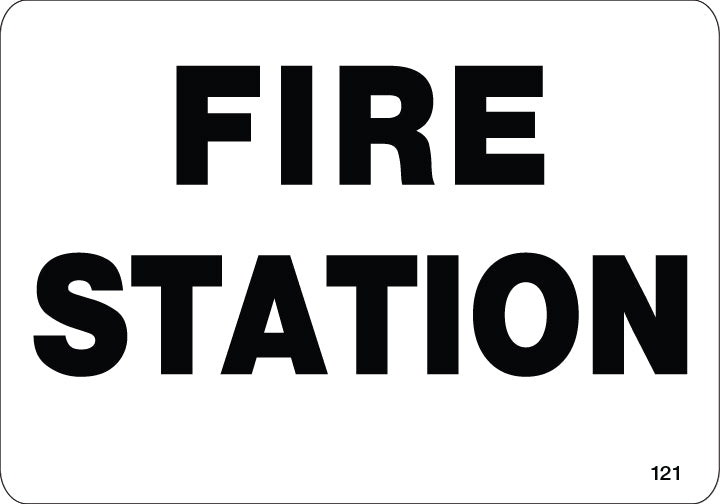 Fire Station- $6.40 Per Decal