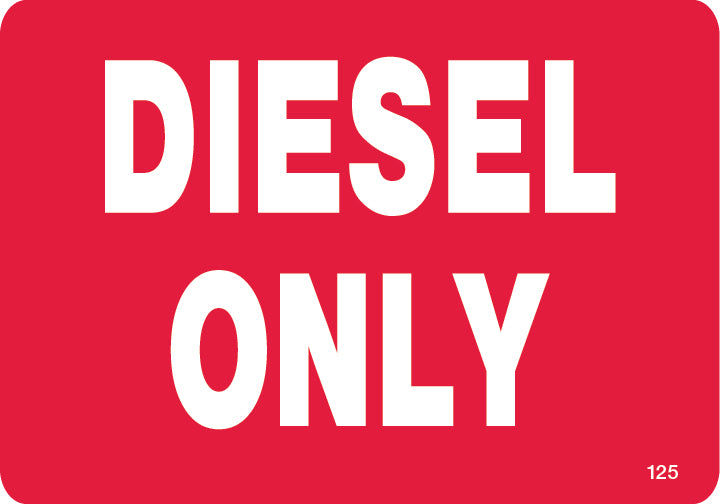 Diesel Only- $6.40 Per Decal