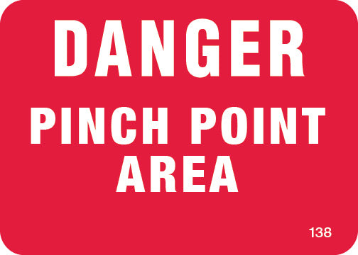 Danger Pitch Point- $3.50 Per Decal
