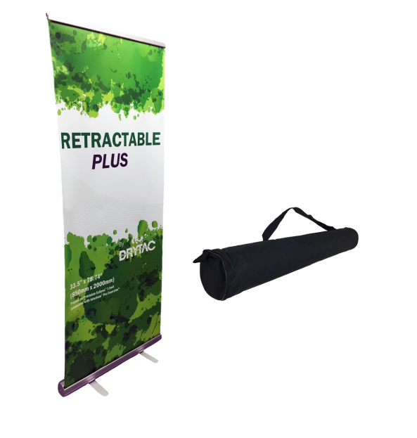 Indoor retractable Banner and stand
