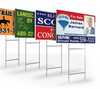 Yard signs - 4mm Double Sided