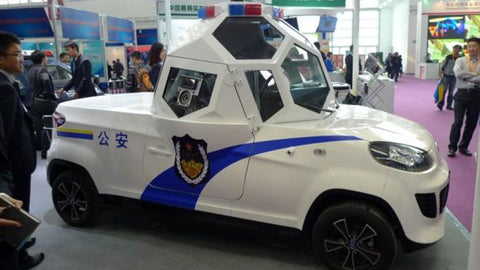 Box Shaped Cars >> Weirdest Looking Police Vehicles - Juno Power