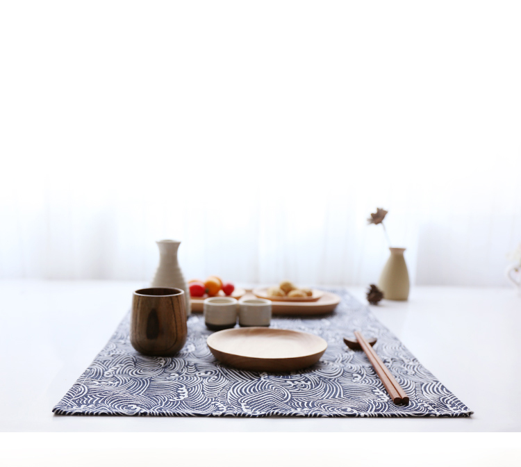 RUPTURE || Set de table japonais en coton et lin