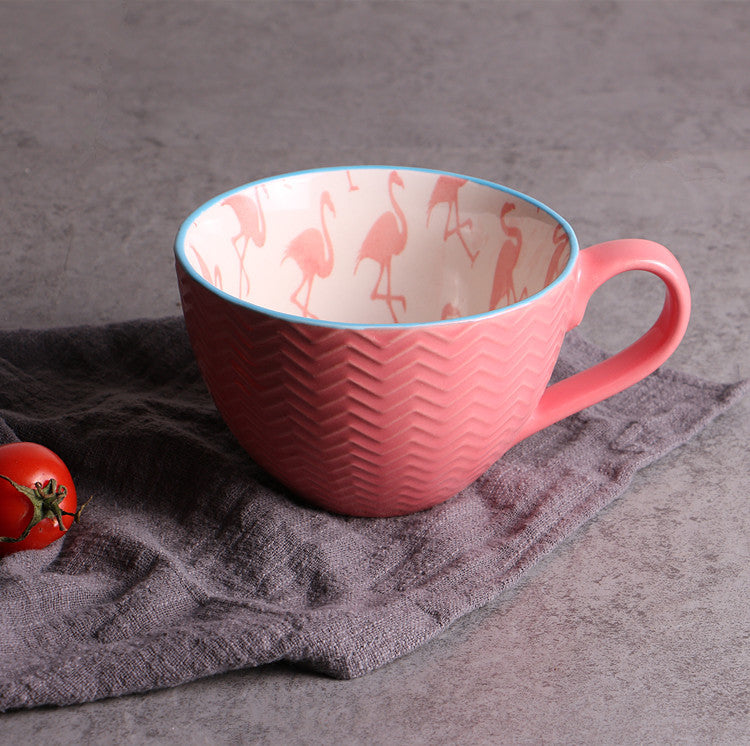 Microwave ceramic cup