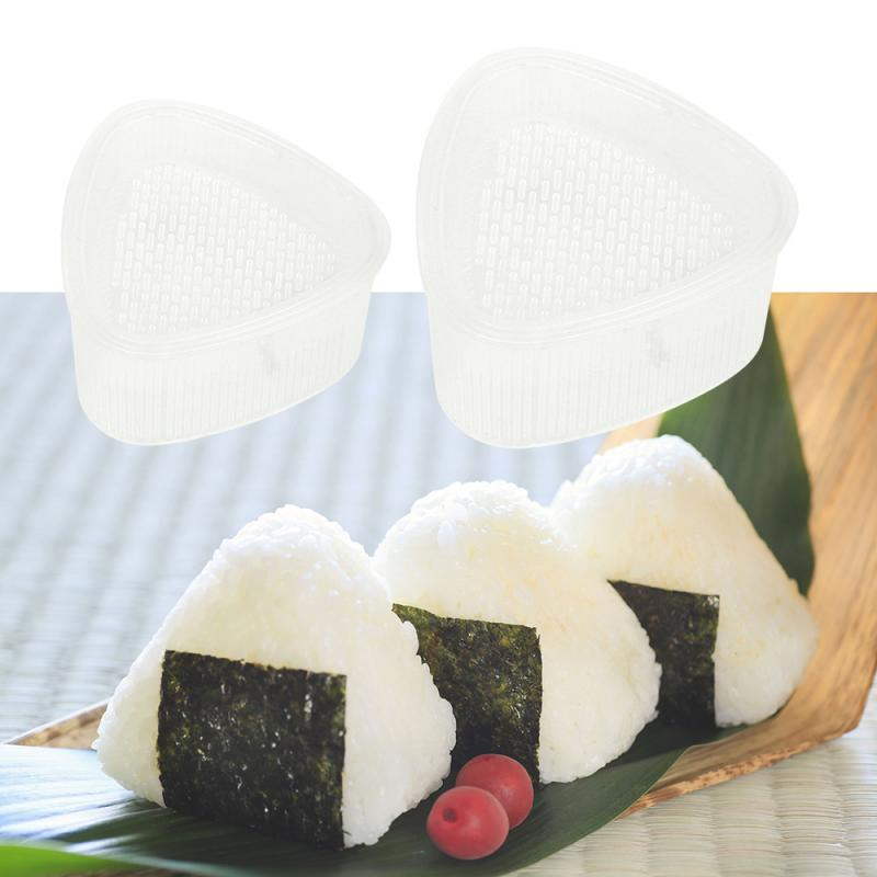 2 moules à Onigiri transparents