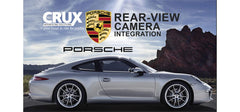 CRUX RVCPR-66 Rear Camera system and VIM Porsche vehicles with PCM 3.1 Navigation Systems