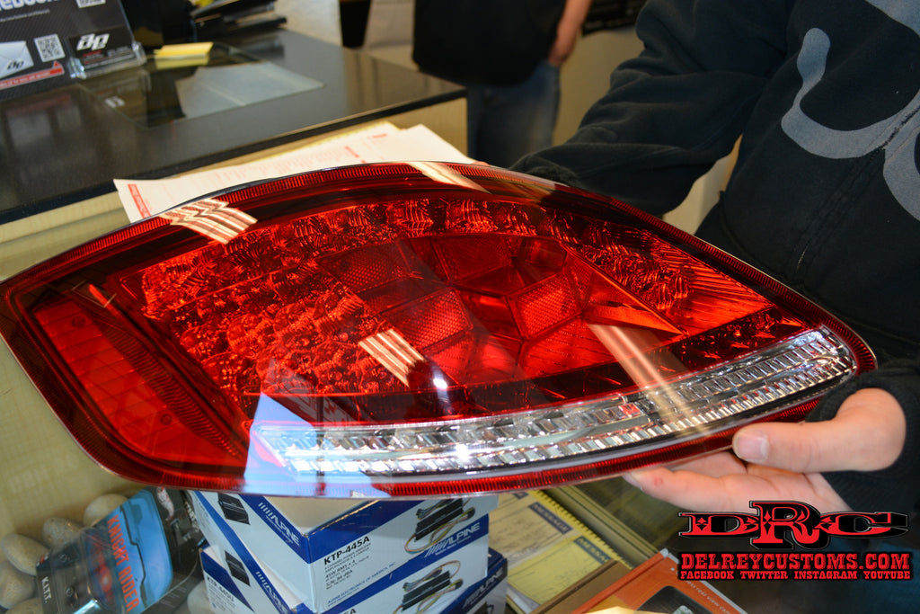 Porsche 987 Led Tail Light Upgrades For Boxster And Cayman
