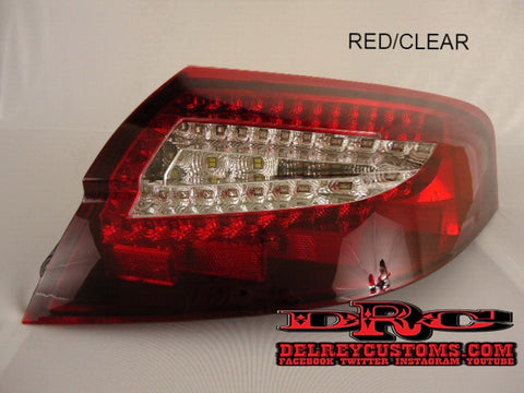 Porsche 996 Wide Body LED Tail Lights 996TT Turbo C4S GT2