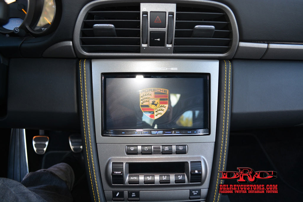 Pioneer AVH-4200NEX Porsche PCM Silver Dash Upgrade Package for Bose
