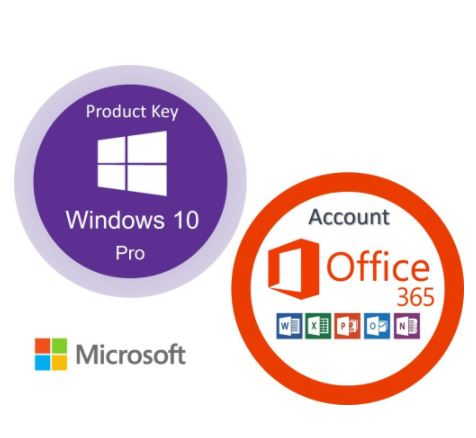 Windows 10 Pro key (lifetime) + Office 365 account (lifetime) Digital Delivery with Download Link