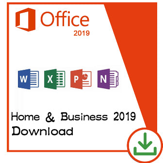 Microsoft Office Home & Business 2019 Key Lifetime 32/64 Bit with Download Link(Not CD)