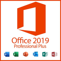 Microsoft Office Professional Plus 2019 Digital Key Lifetime 32/64 Bit with Download Link(Not CD)