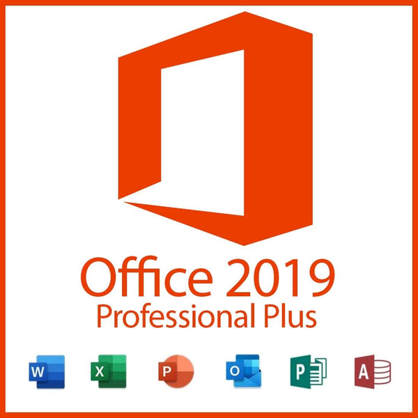 Microsoft Office Professional Plus 2019 Digital Key Lifetime 32/64 Bit (Not CD)