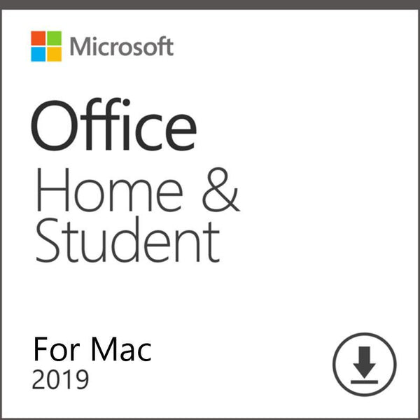 Microsoft Office Home & Student 2019 Account Lifetime 32/64 Bit with Download Link for MAC(Not CD)
