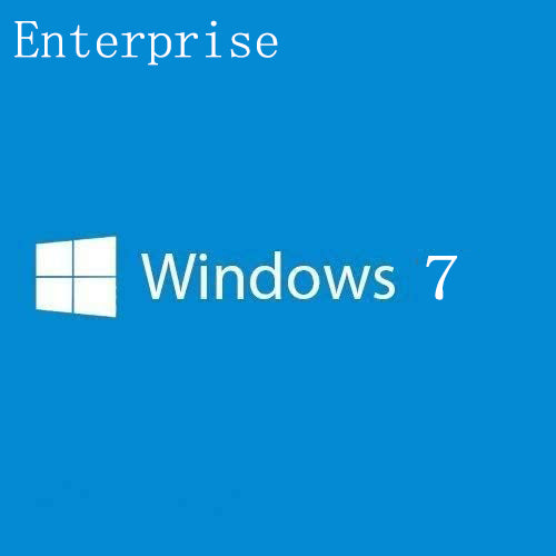 Windows 7 Enterprise Key Lifetime 32/64 Bit (Not CD)