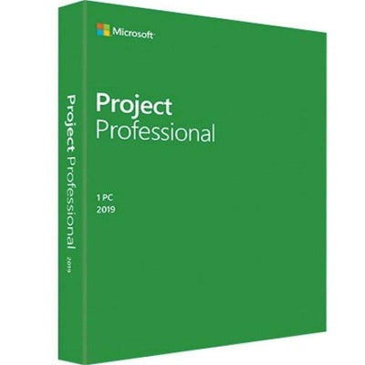 Microsoft Project 2019 Professional Key Lifetime 32/64 Bit (Not CD)