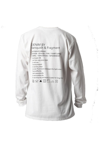Denim By Vanquish & Fragment Ron T Long Sleeves Tee