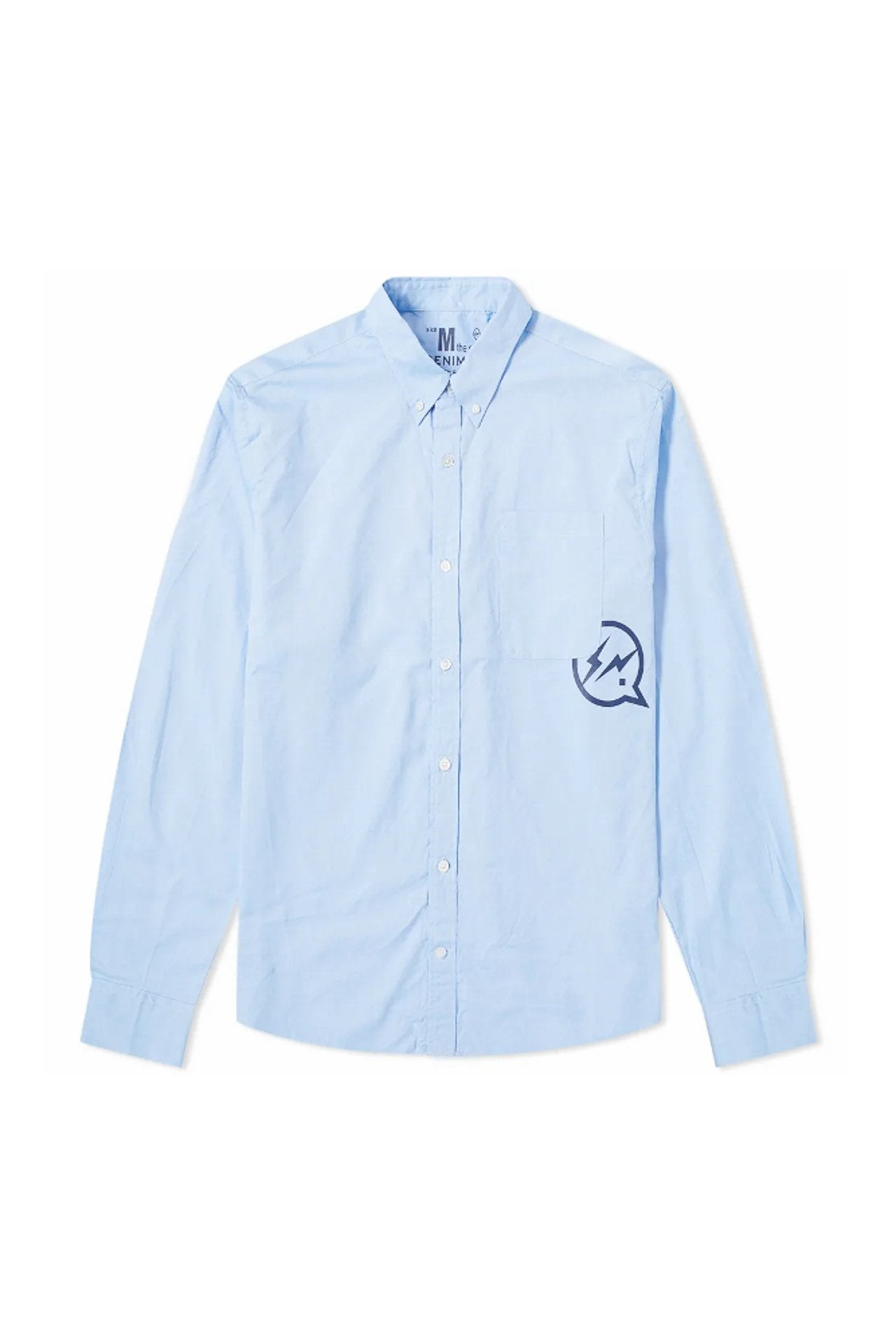 Denim By Vanquish & Fragment Broadcloth Shirt