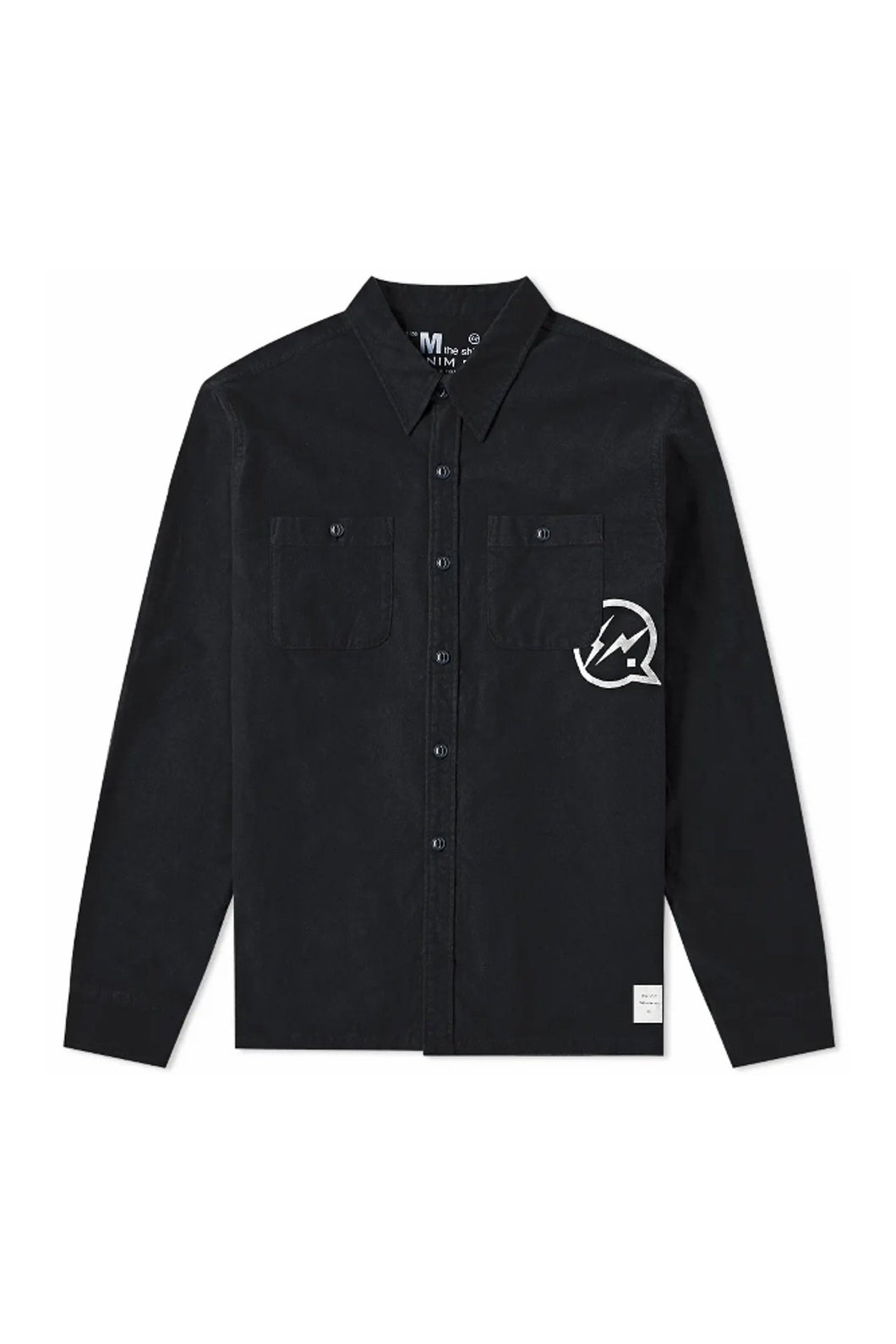 Denim By Vanquish & Fragment Icon Flannel Overshirt