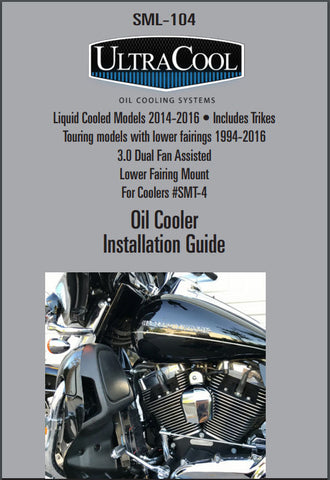 UltraCool SML-104 Oil Cooler Installation Guide