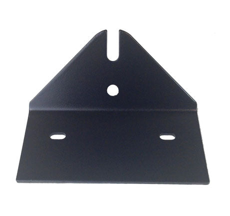 Powder coated steel Below Regulator Mount Cooler Mounting Bracket for Harley Davidson Dyna motor bikes. UltraCool DY-108.