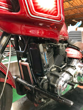 Load image into Gallery viewer, Harley Davidson Softail Milwaukee 8 2018-Current 3.0 Dual Fan Assisted Side Mount on Down Tube Oil Cooler
