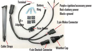 Multiple Accessory Electrical Connector for all Harley Davidson M8 or Milwaukee 8 models. UltraCool SMB-Y128.