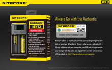 Load image into Gallery viewer, New Nitecore i2 Intellicharger 013