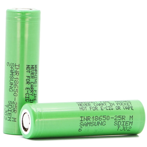 Samsung 25R5 18650 Battery, 2500mAh 001