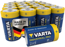 Load image into Gallery viewer, VARTA Industrial Pro LR20 D battery Alkali-manganese