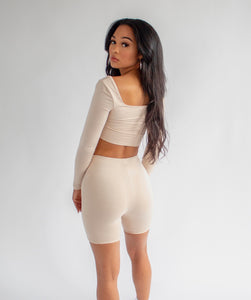 Nude 2 Piece Set