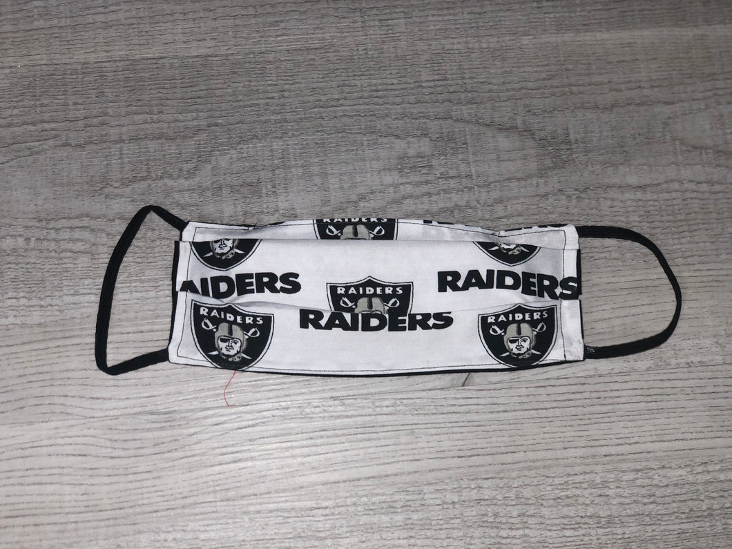 LA Raiders Face Mask