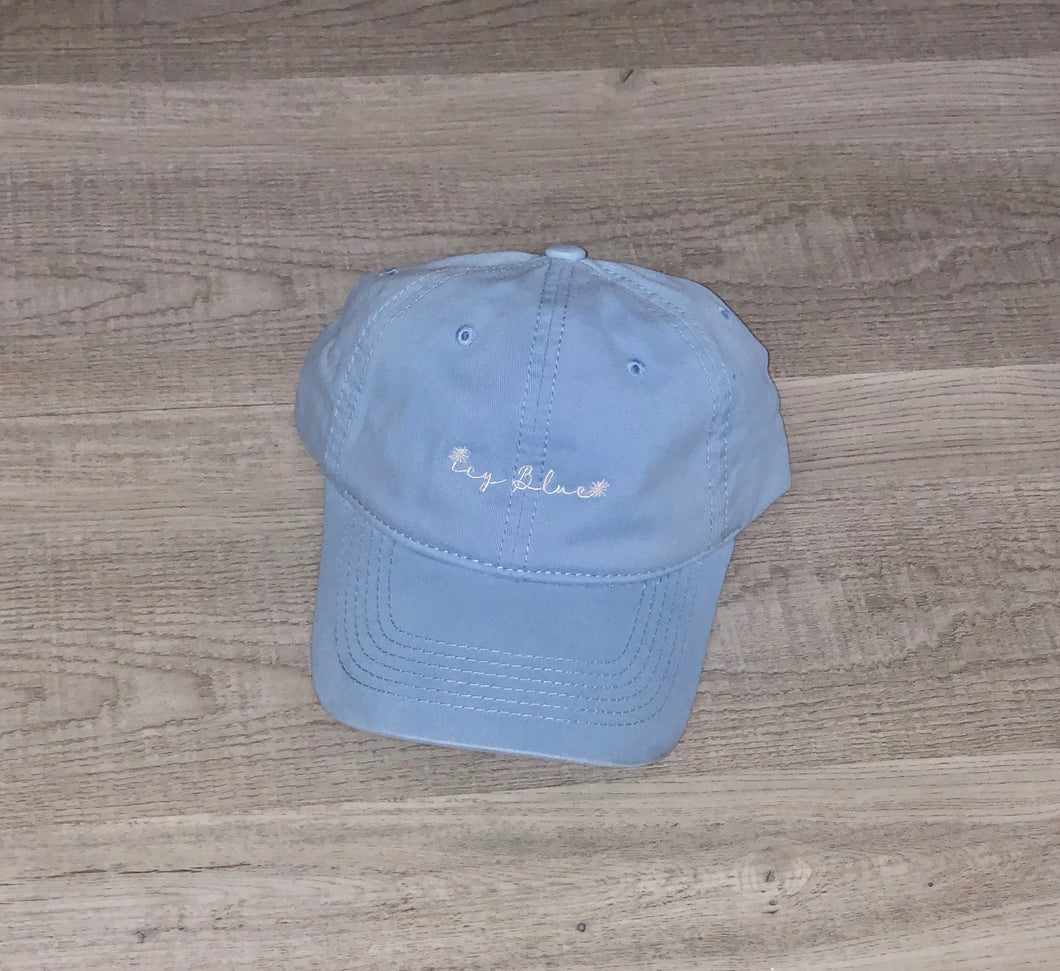 Icy Blue Hat - Blue