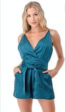 Load image into Gallery viewer, Summer Teal Romper