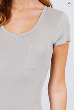 Load image into Gallery viewer, Basic Pocket T-Shirt