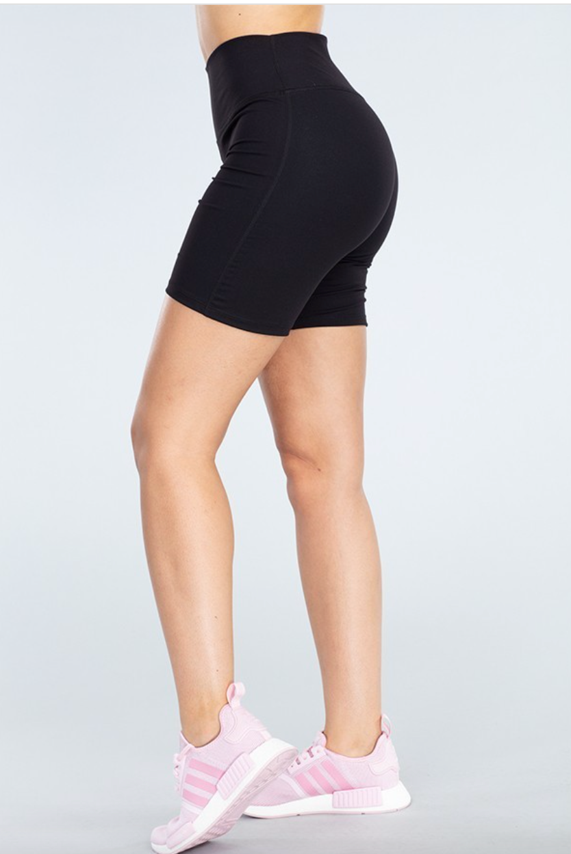 Abby Biker Shorts - Black