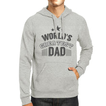 Load image into Gallery viewer, Worlds Greatest Dad - Grey Hoodie
