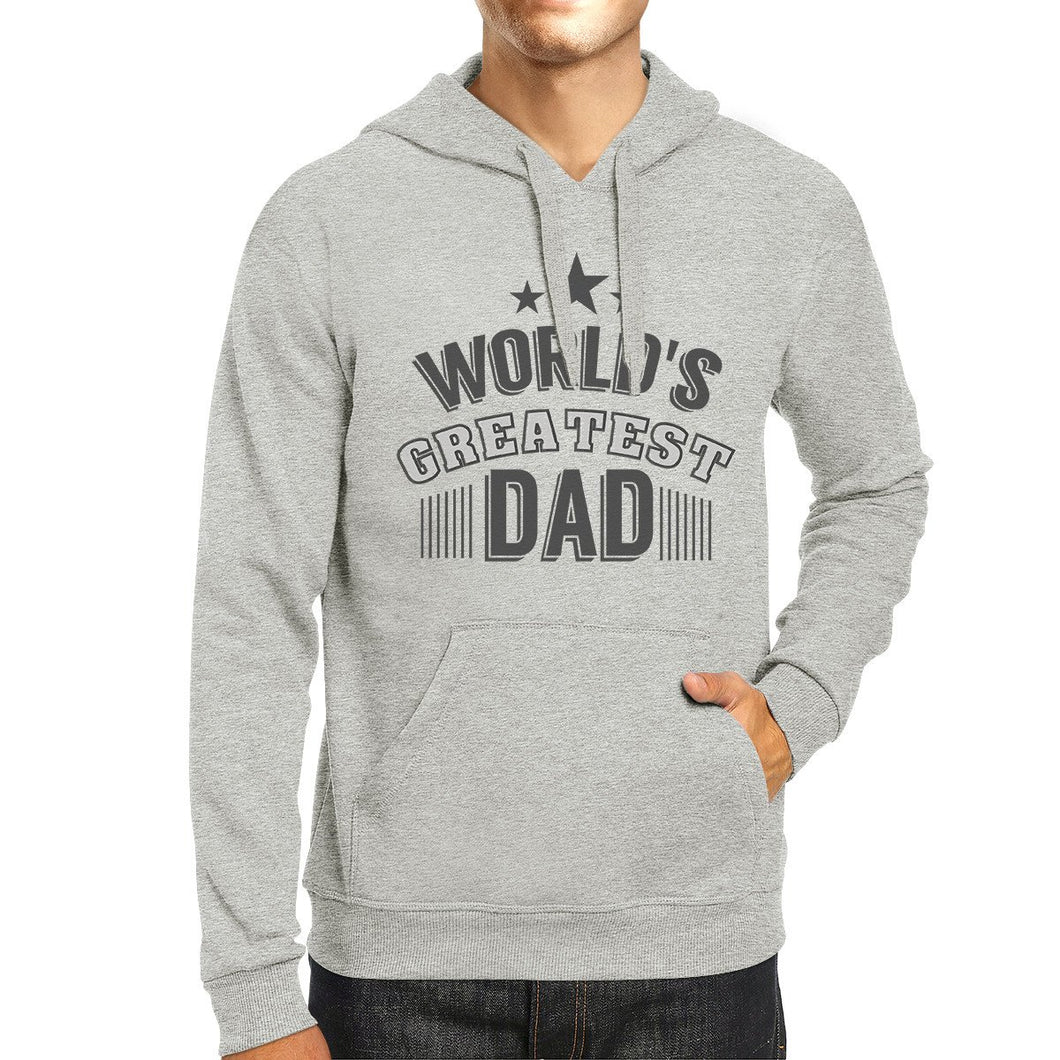 Worlds Greatest Dad - Grey Hoodie