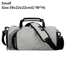 Load image into Gallery viewer, Men's Waterproof Gym and Fitness Travel Bag